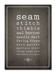 This would look great on my sewing room wall. This would look great on my sewing room wall. Sewing Spaces, My Sewing Room, Sewing Rooms, Love Sewing, Sewing Quotes, Sewing Machine Reviews, Sewing Studio, Sewing Projects For Beginners, Sewing Patterns Free