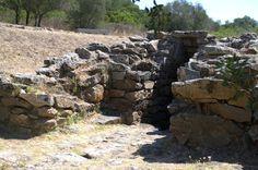 Pozzo Sacro Sa Testa. Siglos XII-XI ac. Olbia. Cerdeña