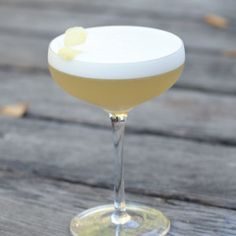 Fiery Ginger Sour: Inspired by a Pisco Sour, but with Ginger