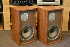 KLH Model Six Speakers