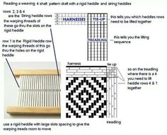 Rigid Heddle Weaving Patterns - Bing Images