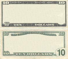 Photo about Clear 10 dollar banknote pattern for design purposes. Image of paper, clear, currency - 21355593 Play Money Template, Money Order, Pos, Stock Photos, Templates, Living Room, Paper, Image, Police Cars