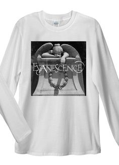 Evanescence Long Sleeve T-Shirts. Unisex T-Shirt: Made of 100% Pre-Shrunk Jersey Knit Cotton. Weight of the fabric 141g/m²