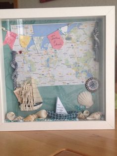 Idea for a honeymoon shadow box!