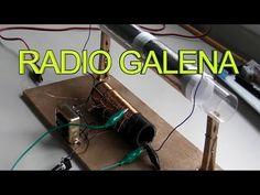 RADIO CASERA SIN PILAS NI CORRIENTE (Como hacer) - YouTube