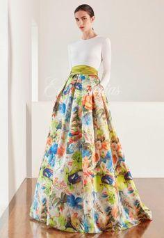 Vestido novia Modelo 2666. Patricia Avendaño colección 2017 en Eva Novias Madrid