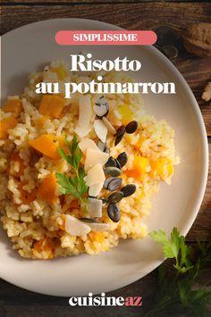 Voici un plat typiquement italien, en version automnale, avec ce risotto au potimarron. #recette#cuisine#risotto#italie#potimarron#courge