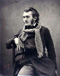Paul Gustave Doré by Felix Nadar 1855-1859