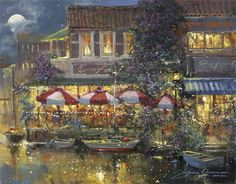 Harbor cafe - James Coleman