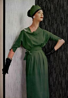 1957 Gres #50s #vintage #fashion