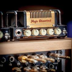HoTone Nano Legacy Mojo Diamond #hotone #amphead #amplifier #amp #guitarporn #guitarist #guitar #thomann #musicisourpassion #guitar #guitarist #gear #accessories #tech #band #mojo #diamond #music #instamusic #instamusician Instruments, Bass Amps, Music Pics, Cool Tech, Guitar Amp, Marshall Speaker, Diamond Music, Sound Effects, Speakers