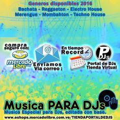 La mejor musica para dj!!!  ACTUALIZA TU REPERTORIO  con la mejor musica 2016  con base u original. contacta directamente a nuestro equipo de profesionales 04243519233 te atenderá @eldjlenen PARA MAS INFORMACIÓN ESCRIBANOS AL DIRECT  #MusicaParaDJs #djlenen #portaldedjs #sevende #ventas #venezuela #musicaconbase #remix #dj #djane #electro #reggaeton #merengue #navidad