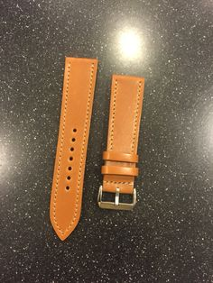 Shell Cordovan  Leather Watch Strap from 922Leather.com Another happy client!