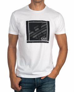 Camiseta EA7 ARMANI ® Blanca - Train Graphic |ENVIO GRATIS