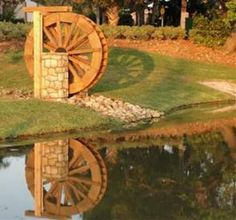 After doing this for years I've found that pictures work better than words on the website so I'll let the pictures show you the quality of my water wheels rather than list all the details; take a look; then contact me and we'll discuss your location to find the best design for your location.