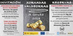 Los vinos DO Valdeorras te invitan a disfrutar de su propuesta solidaria en A Coruña #comparte1valdeorras