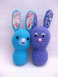 Bunny Mummy: Baby Bunny Tutorial - tutorial to help with amigurumi