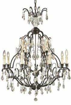 World Imports Lighting 2614-89 Timeless Elegance 12-Light Chandelier, Bronze World Imports Lighting,http://www.amazon.com/dp/B000NKAI1S/ref=cm_sw_r_pi_dp_0OwPsb1HCA5MCGPZ