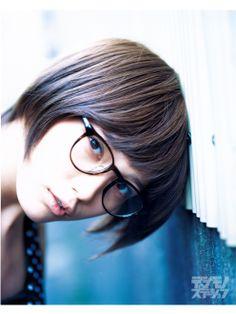 glasses 125 本田翼|ビジョメガネ|ONLINE デジモノステーション