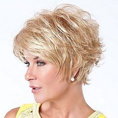 Image result for Cute Short Layered Haircuts for Women Over 50 Back View