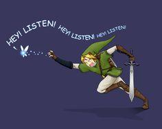 Link has had enough.