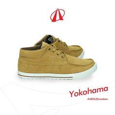 92d74fa4b6 Shoes · Leher tinggi sneakers Yokohama akan adalah proteksi bagi ankle  kamu. Digunakan untuk berjalan kaki jauh
