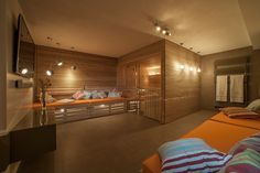 Low EMF Infrared Sauna - Advantages & Available Models Indoor Sauna, Sauna Room, Basement Gym, Spa Rooms, Steel House, Home Spa, Workout Rooms, Dream Rooms, Bauhaus