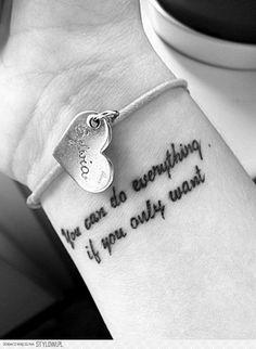 Mój wymarzony tatuaż ...