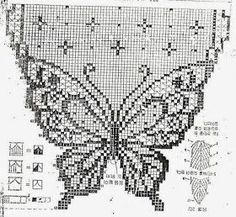 lots of russian and japanese patterns for doilies and filet crochet Discussion on LiveInternet - Russian Service Online DiariesI really need to learn how to crochet this. Filet Crochet Charts, Crochet Motifs, Knitting Charts, Thread Crochet, Crochet Doilies, Crochet Stitches, Crochet Patterns, Doily Patterns, Crochet Curtain Pattern