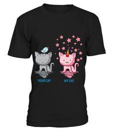 YOUR CAT - MY CAT  #gift #idea #shirt #image #animal #pet #dog #bestgift #cat #bichon #coffemugs