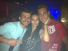 Con los grandes hermanos @Ainhoagh5 @JuankarGH14ofic en #LaPosada @Albertodelacru