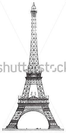 torre eiffel dibujo - Buscar con Google