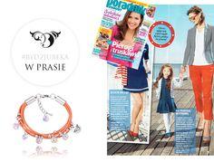 Biżuteria By Dziubeka w sesji zdjęciowej dla Poradnika Domowego :)  #bydziubeka #jewerly # #fashion #style #magazine #pressroom #press