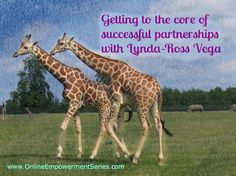 Ready to learn more from Lynda-Ross about how to create sustainable partnerships? She's part of the free Connection Without Overwhelm Series www.OnlineEmpowermentSeries.com (live Oct. 15 - 24)