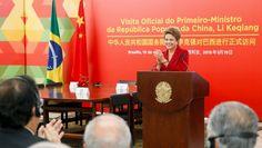 """A presidenta Dilma Rousseff destacou, nesta terça-feira (19), que a parceria entre o Brasil e a China é particularmente importante em 2015, quando as Nações Unidas celebram 70 anos. """"Reiterei que e..."""