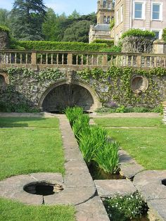 Hestercombe Gardens (UK).  The gardens were designed by Sir Edwin Lutyens and the planting plan by Gertrude Jekyll.  The gardens have been fully restored to the original planting plans.