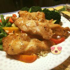 Weight Watchers SmartPoints=7: Caramelized Chicken