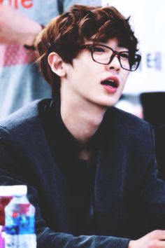 Chanyeol and his dumb face