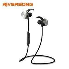 RIVERSONG C01 Wireless Earphones Bluetooth 4.1 Headphones Sweatproof Fone de ouvido Sport Magnetic Neckband Ecouteur Auriculares #Affiliate