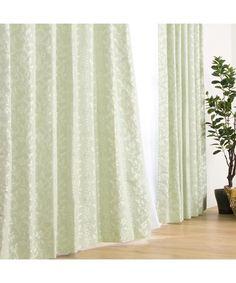 裏地付き遮光3級・遮熱カーテン(グロリアYGR)