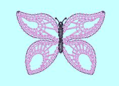 LACE, Embroidery, freeby, butterfly Lace Embroidery, Machine Embroidery, Butterfly, Symbols, Applique, Art, Art Background, Kunst, Performing Arts