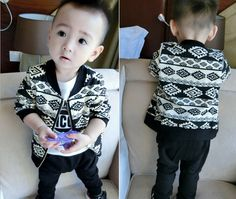 Aztec Pattern Jacket with pants