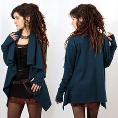 "Sweat Witch ""Malika"", Bleu Foncé - Femme / Pull - sweat"