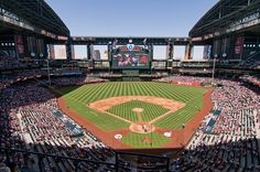 chase field; home of the 'd-backs'