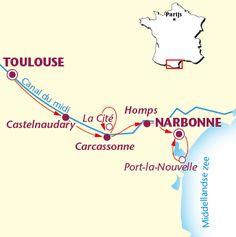 Inspirerende fietsreis langs Canal du Midi in Frankrijk