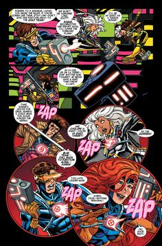 Preview: X-Men '92 #1, Page 3 of 9 - Comic Book Resources