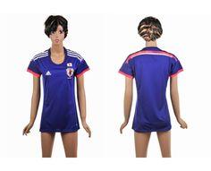 Giappone Maglie Calcio Mondiali 2014 Donna Casa