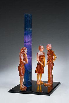 Lucy Lyon  - glass sculpture