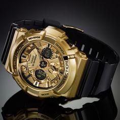 カシオ腕時計 G-SHOCK GA-200GD-9B2JF