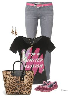Very Limited by ksims-1 on Polyvore featuring polyvore fashion style AG Adriano Goldschmied Chiara Ferragni Dolce&Gabbana Lucky Brand Michael Kors clothing